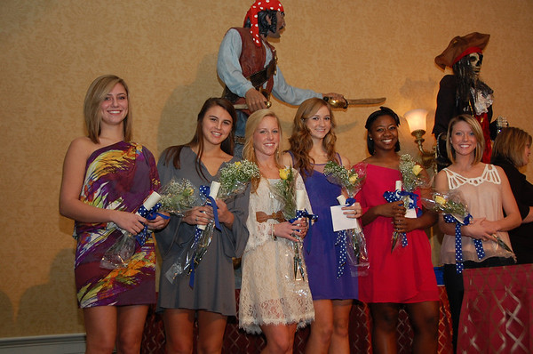 Pirates Award Banquet 2011-2012