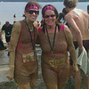 After the Warrior Dash - cold, but happy.