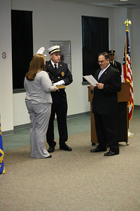 East Rutherford Fire Department 2011 Swearing in line officers