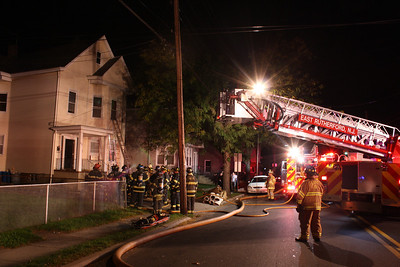 East Rutherford Working Attic Fire Paterson Ave 9-18-11