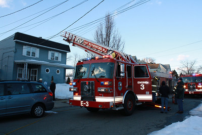 East Rutherford Working Fire Everett Pl. 2-8-11