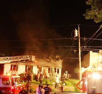3rd alarm Hasbrouck Heights Baldwin Ave. 5-25-11