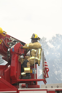 Orange County Fire/Rescue Firefighter/Engineer Smith operated Truck 54, a 2005 2000GPM/114' E-One/Bronto Skylift