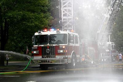 Ridgefield Wet Down Engine 1 Sept. 24, 2011
