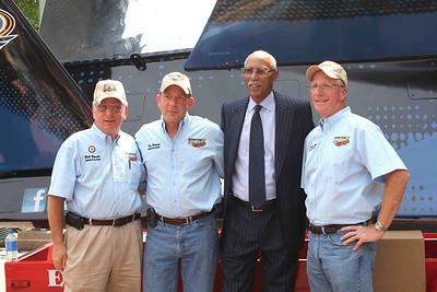 L-R: Bill Rands, Tom Bertolini, Mayor Dave Bing, Mark Weber