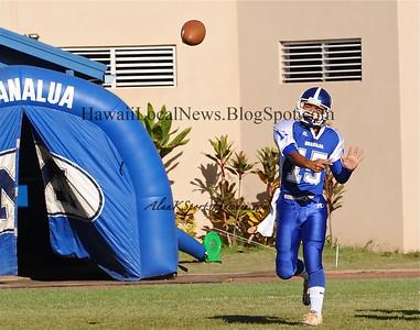 """09-09-11 Moanalua JV Homecoming  """"vs"""" Kaiser HS (33-20)"""