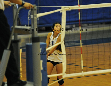 "09-15-11 Moanalua Girls Volleyball  Blue/JV/Varsity ""vs"" Kailua HS."