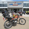 Sturgis Motorsports is a Suzuki, Yamaha and BMW dealer. The BMW guys who were hanging around on a Saturday afternoon were stunned when I told them where I had come from.