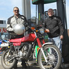 Got to ride about 40 miles with Mike Perrett and his 175 on day 2. At least part of the trip was with a couple of Hodakas!