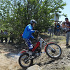 There are also competition events at Hodaka Days. Here observed trials.