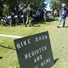 One of the biggest events of the weekend is the bike show. This year approaching 100 entries.