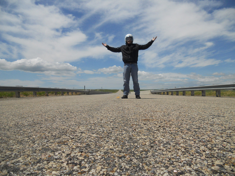 Road warrior, loving the road! South Dakota. 6th day.