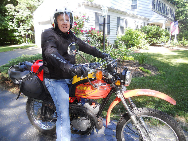 Just back from final long test ride. June 2, 2011