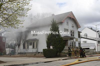 3rd Alarm/General Alarm Concord NH 14 Montgomery Street 04/30/2011