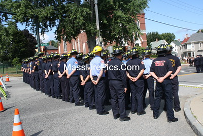 LODD Funeral For Lt Timothy Oliveira, Salisbury Ma. Fire Dept. 08/04/2011
