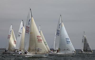 2011  LBRW - Friday - C Course - J24 & J80's  6