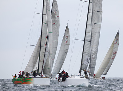 2011 Ahmanson Regatta - Saturday - Farr 40's  16