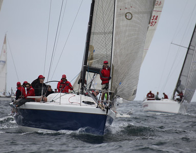 2011 Ahmanson Regatta - Saturday - Farr 40's  21