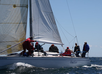 2011 Ahmanson Regatta - Sunday - Outlier  9