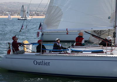 2011 Newport to Ensenada Race - Outlier  2