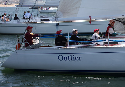 2011 Newport to Ensenada Race - Outlier  3