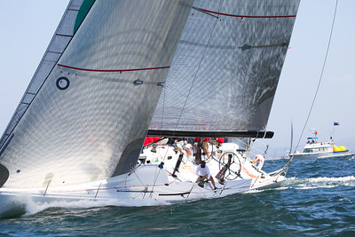 Course A Far Ocean - 2011 Yachting Cup  7