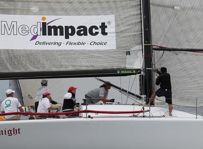 2010 Long Beach Race Week - Friday - White Knight  3