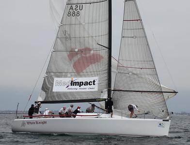 2010 Long Beach Race Week - Friday - White Knight  2