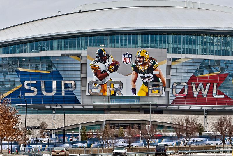 Cowboy Stadium SuperBowl 02-03-11