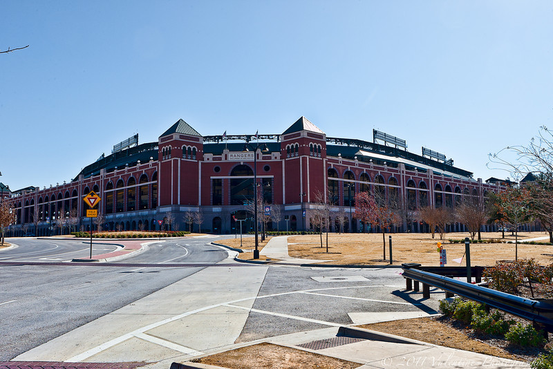The Ballpark In Arlington.<br /> Home of the Texas Rangers. <br /> 01-29-11