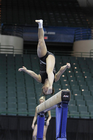 University of Utah Gymnastics @ NCAA's 2011