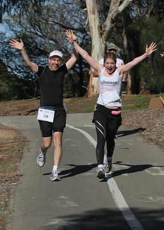 Adelaide Marathon 2011 31Km Mark