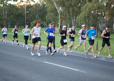 Adelaide Marathon 2011 1Km Mark