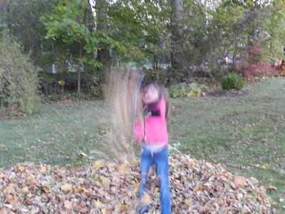 2011 November Leaves Halloween