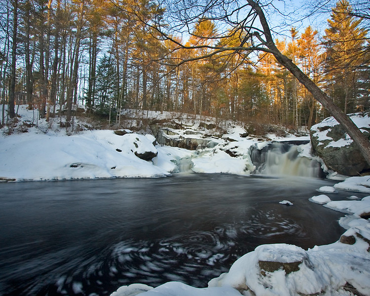 Locke's Falls on the Isinglass River
