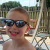 Daddy's sunglasses are popular