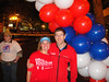 Laura and Jeff at the start of the Portland Marathon