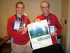 Ken and Nick won age group awards. Ken was 4th for the 35-39 age group and Nick was 2nd for the 70-74 age group.