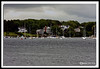 Harbor at Kittery Maine shot from New Castle NH