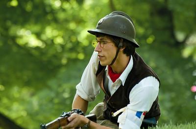 French Resistance Encampment