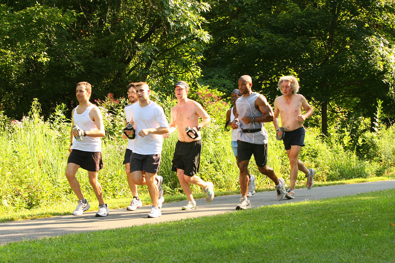 FTM - July 31st 2011 Training Run - 17 Miles - Photo by Ken Trombatore