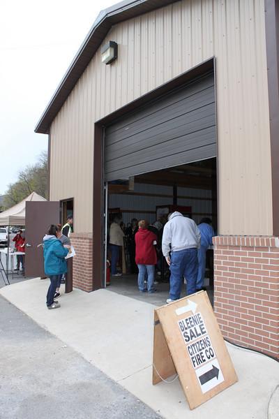 Bleenie Sale, Citizen's Fire Company, Tamaqua (4-22-2011)