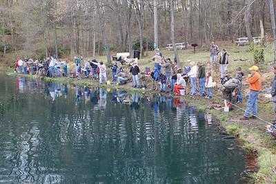 Kellner's Dam Fishing Derby, Day 1 of 2, Tamaqua (4-30-2011)