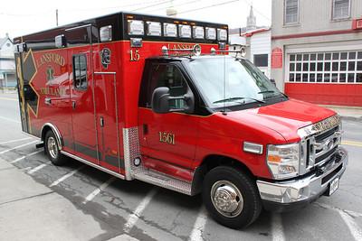 New Ambulance Arrives, Lansford Ambulance Service, Lansford (4-20-2011)