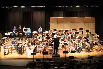 Tamaqua Spring Band Concert, Raider Band, Jazz Band, Middle School, Tamaqua (4-28-2011)