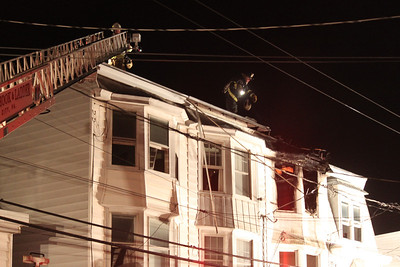 House Fire Response, 326 East Pine St, Mahanoy City (8-18-2011)
