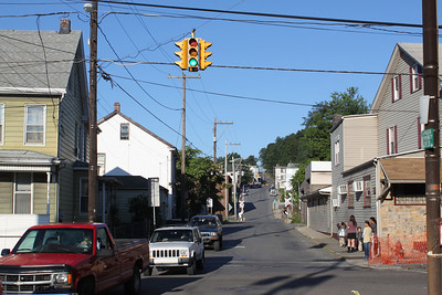 Spruce Street to be Closed, Tamaqua (8-29-2011)