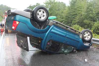 Vehicle Overturns, SR309, South Tamaqua (8-21-2011)