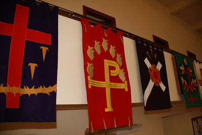 Homemade Banners, Zion Evangelical Lutheran Church, Tamaqua (12-5-2011)