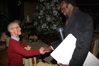 Nigerian Ambassador of the Arts, Visits Stonehedge Gardens, South Tamaqua (12-23-2011)